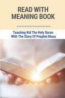 Read With Meaning Book