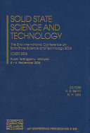 Solid State Science And Technology Book PDF