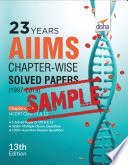Free Sample 23 Years Aiims Chapter Wise Solved Papers 1997 2019 13th Edition