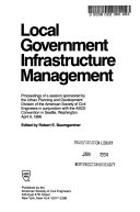 Local Government Infrastructure Management