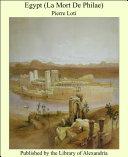 Pdf Egypt (La Mort De Philae) Telecharger