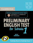 Cambridge PET for Schools 1  Student s Book with Answers