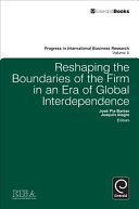 Pdf Reshaping the Boundaries of the Firm in an Era of Global Interdependence