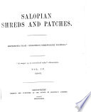 Salopian Shreds and Patches