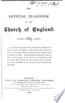 The Official Year book of the Church of England