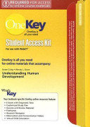 Understanding Human Development Stuent Access Kit for Use with WebCT