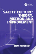 Safety Culture  Theory  Method and Improvement Book
