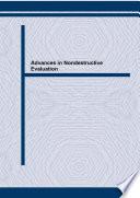 Advances in Nondestructive Evaluation Book