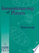 Immunopharmacology Of Platelets Book PDF