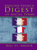 Pdf An English – French Digest of Social Terms Telecharger