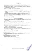 Précis des Victoires, Conquêtes et Revers des Français depuis 1792 jusqu'à 1845, etc