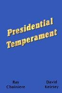 Presidential Temperament Book