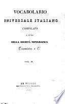 Vocabolario universale italiano