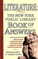 Literature  New York Public Library Book of Answers