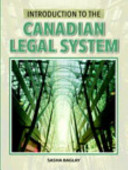 Introduction to the Canadian Legal System