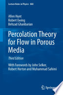 Percolation Theory For Flow In Porous Media Book PDF