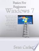 Basics For Beginners Windows 7 Book PDF