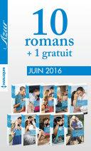 10 romans Azur + 1 gratuit (no3715 à 3724 - Juin 2016)