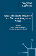 Real Talk: Reality Television and Discourse Analysis in Action Pdf/ePub eBook