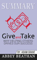 Summary of Give and Take Book