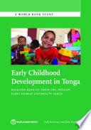 Early Childhood Development in Tonga