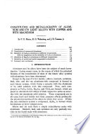 Constitution and Metallography of Aluminum and Its Light Alloys with Copper and with Magnesium