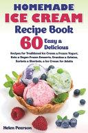 Homemade Ice Cream Recipe Book