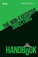 The Non-Executive Directors' Handbook