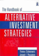 The Handbook Of Alternative Investment Strategies