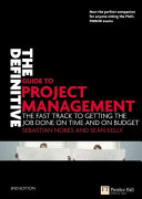 Cover of The Definitive Guide to Project Management