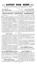 Soviet War News