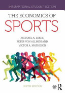 Cover of The Economics of Sports