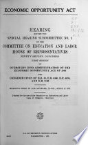 Hearings  Reports  Public Laws