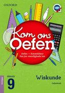 Books - Oxford Kom Ons Oefen Wiskunde Graad 9 Oefenboek | ISBN 9780199055135