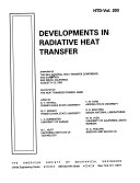Developments in Radiative Heat Transfer