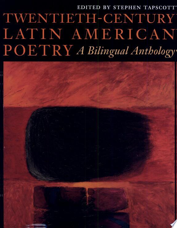 Twentieth-Century Latin American Poetry