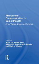 Pheromone Communication In Social Insects [Pdf/ePub] eBook
