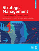 Pdf Strategic Management