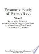 Economic Study of Puerto Rico
