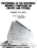 Proceedings of the     Midwest Symposium on Circuits and Systems Book