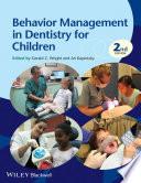 Behavior Management in Dentistry for Children Book