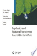 Capillarity and Wetting Phenomena