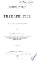 Homœopathic therapeutics