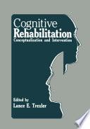 Cognitive Rehabilitation Book