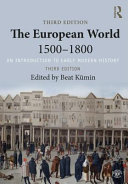 Cover of The European World 1500-1800