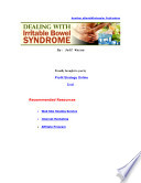 Dealingwithirritablebowelsyndrome Content Pdf