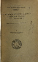 Life Histories of North American Petrels and Pelicans and Their Allies