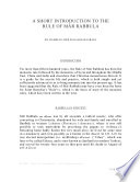 A Short Introduction to The Rule of Mar Rabbula
