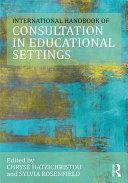 The International Handbook of Consultation in Educational Settings [Pdf/ePub] eBook