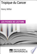 Tropique du Cancer d'Henry Miller